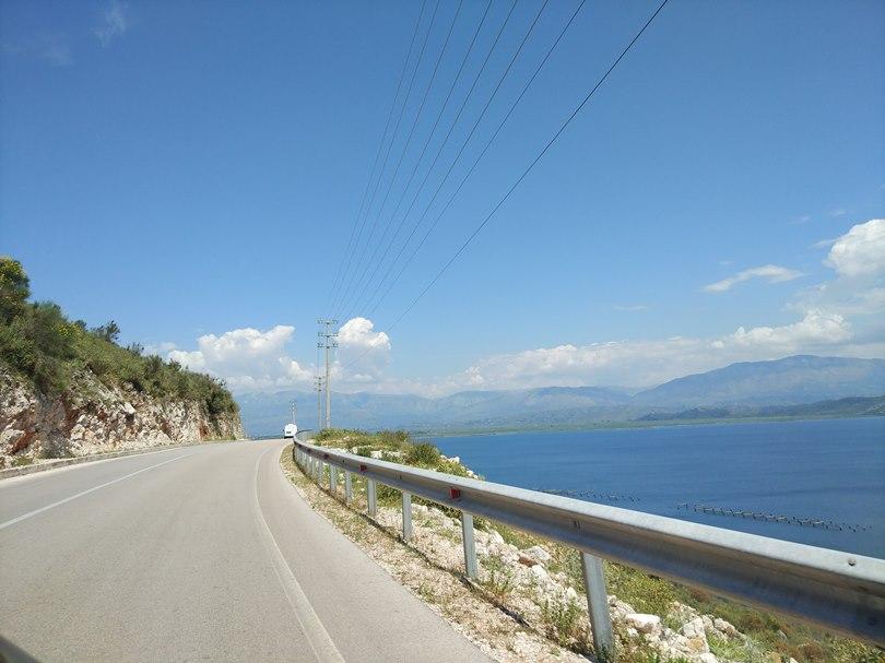 дороги в Албании