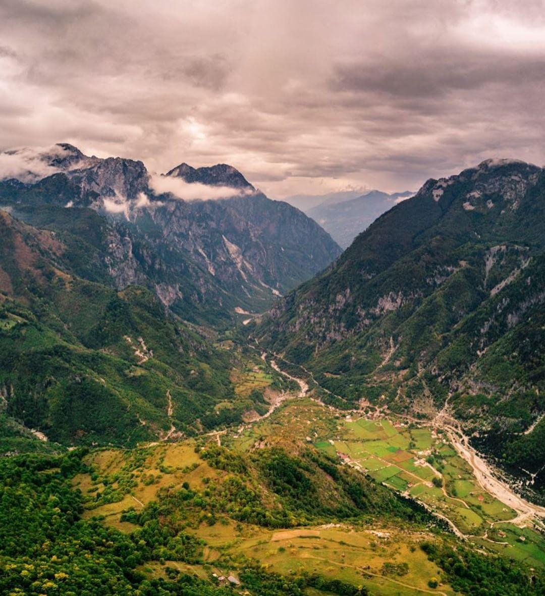 горы Албании