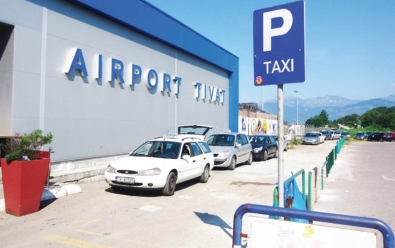 аэропорт Тиват, такси до Будвы