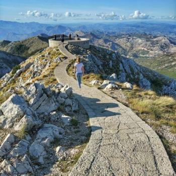 Гумно на Езерской вершине - панорама на Негуши