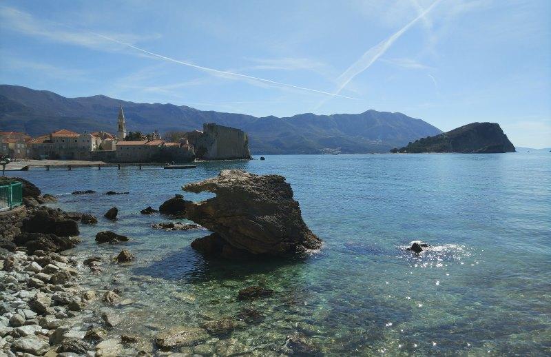черногория будва море