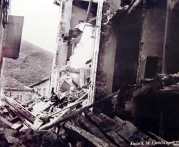 старый град Будвы после землетресения 1979 г, Черногория