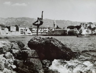 балерина в Будве