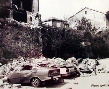фото Будвы после землетресения 1979 г, Черногория