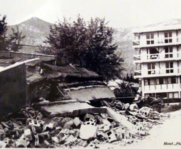 Будва после землетресения 1979 г, Черногория