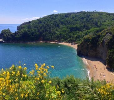 пляж могрен черногория