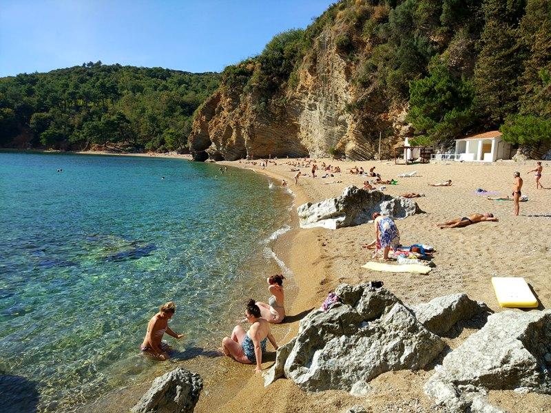 пляж могрен будва фото