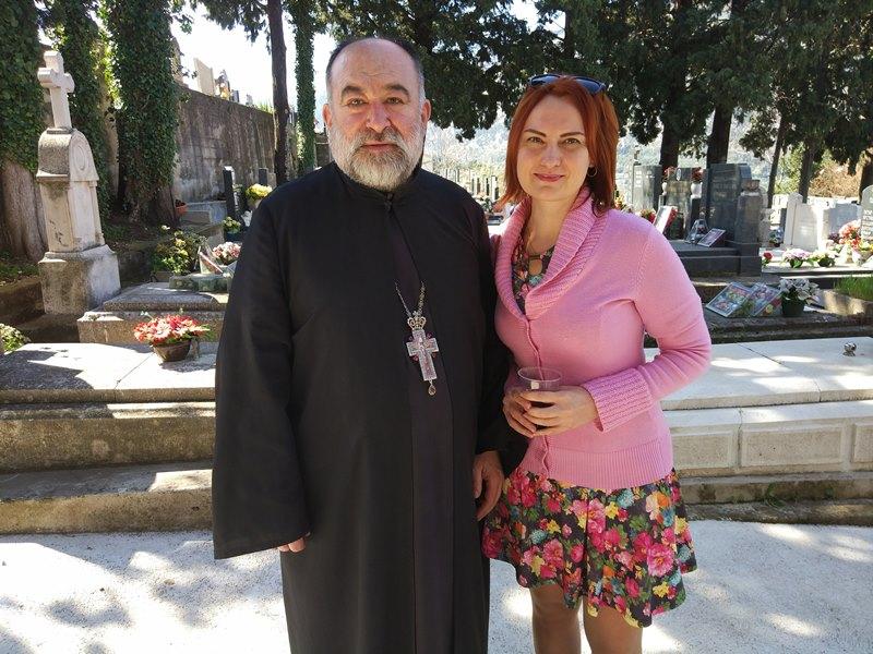 отец Миленко,Черногория