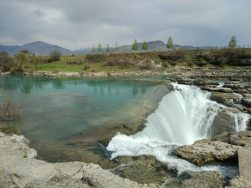 водопад Нигара в Черногории