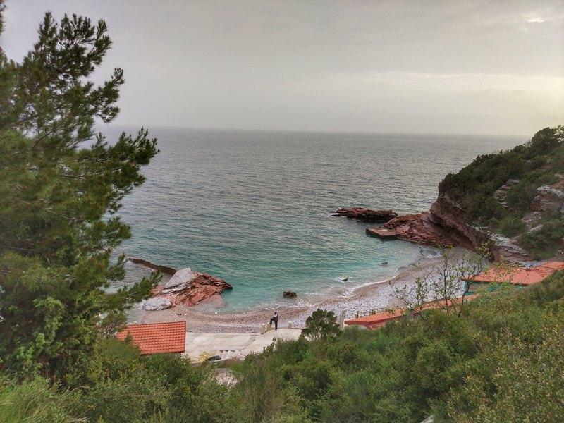 пляжи у Святого Стефана