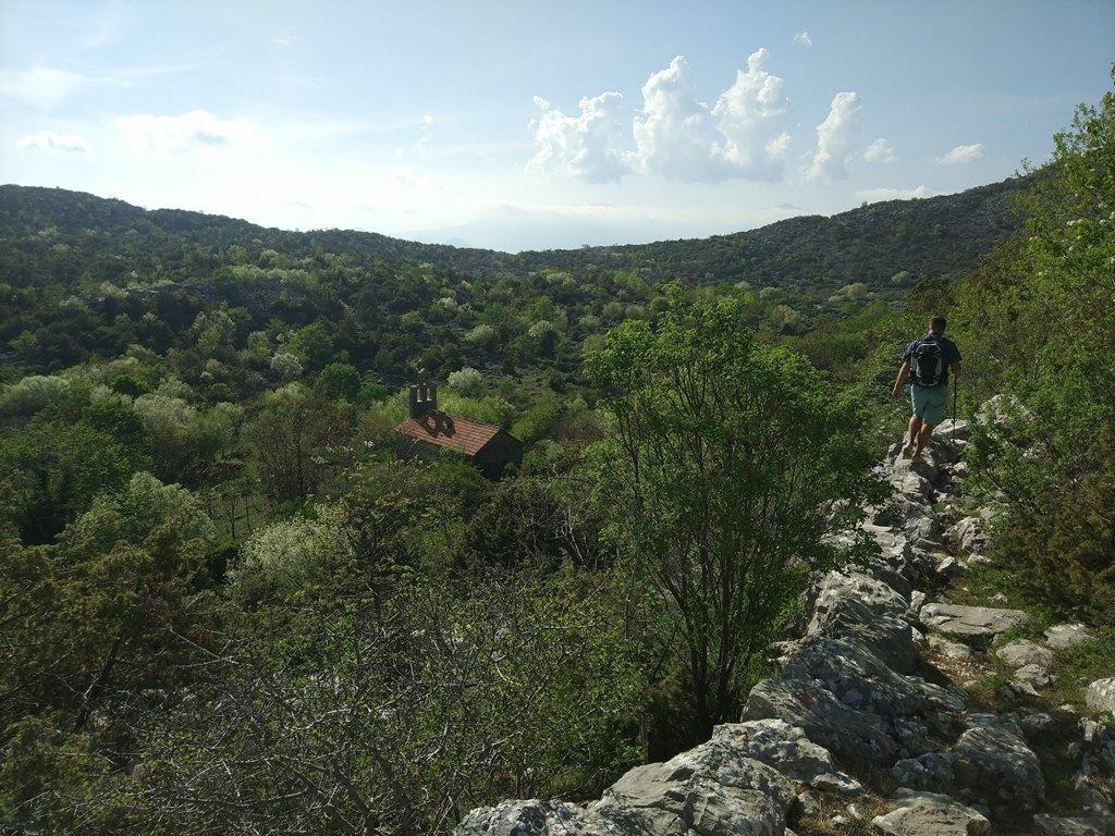Негуши, поход по горе Ловчен