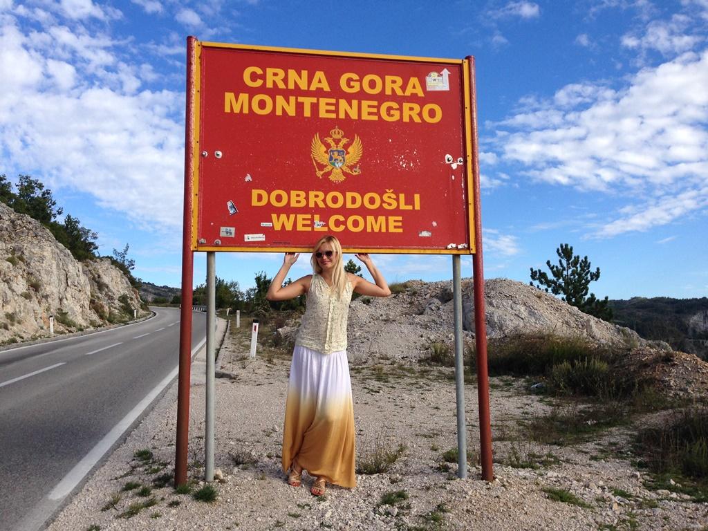 граница между Черногорией и Боснией