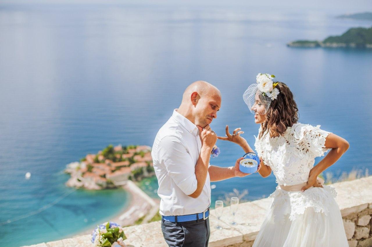 свадебная фотосессия в черногории недорого