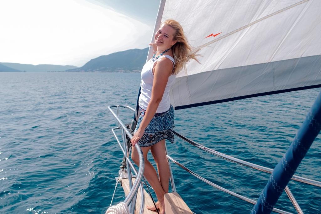 яхта в Черногории в чартер недорого