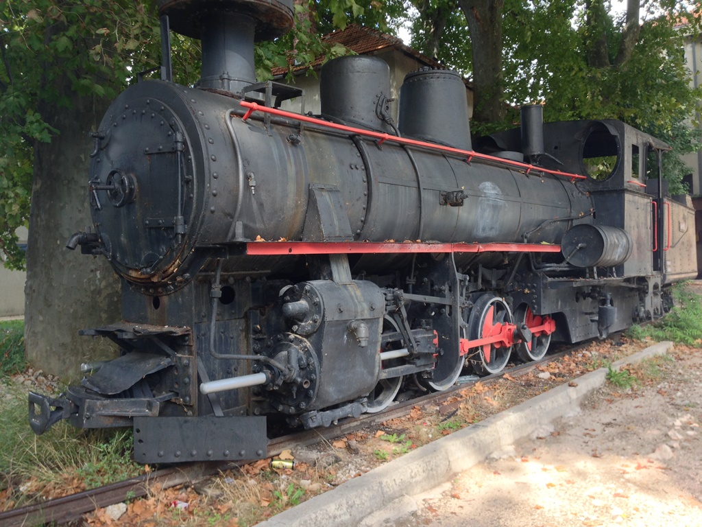 бывшая ж д станция в Требинье