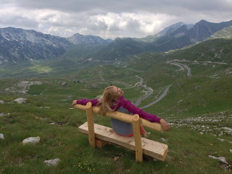 перевал седло черногория