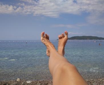 пляж Каменово, Черногория