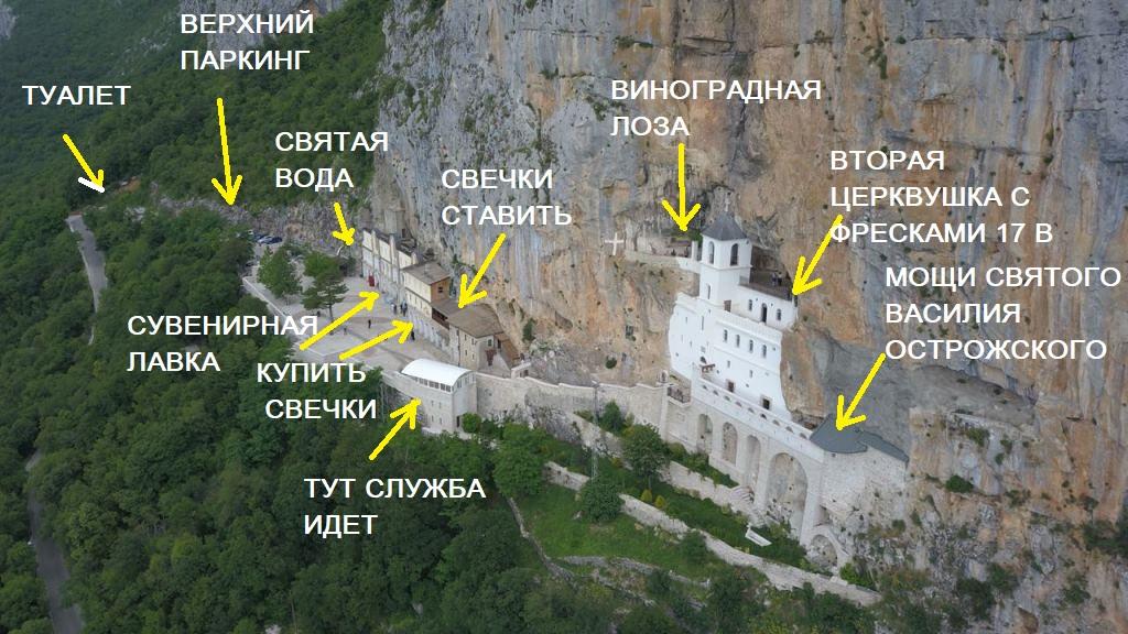 фото монастыря острог