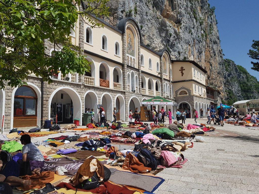 экскурсия монастырь Острог Черногория