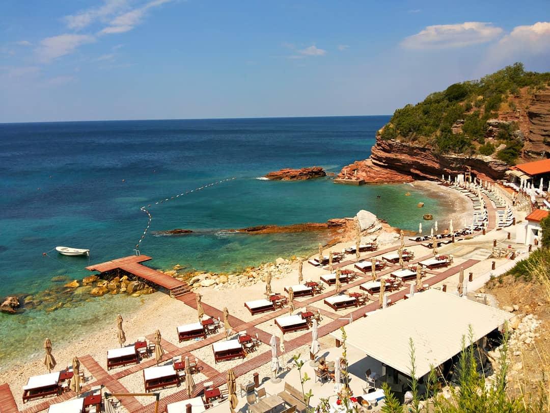 пляж Галия у Святого Стефана