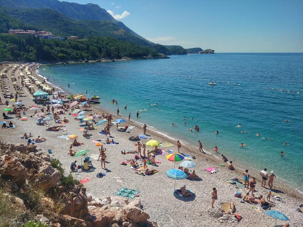 пляж Каменово Черногория