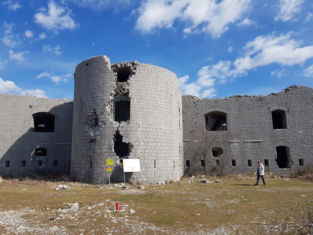 крепость Космач, Черногория