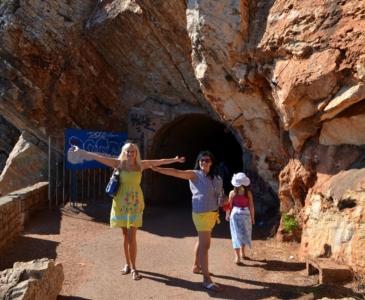 дорога через туннели Петровац Перазича До