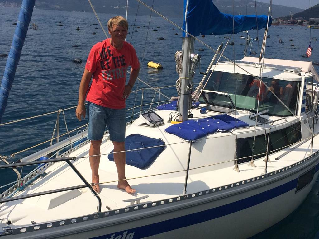 аренда яхты с капитаном в Черногории