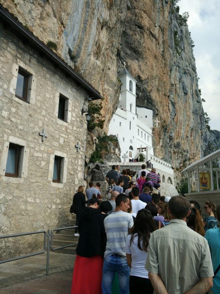 монастырь острог дорога