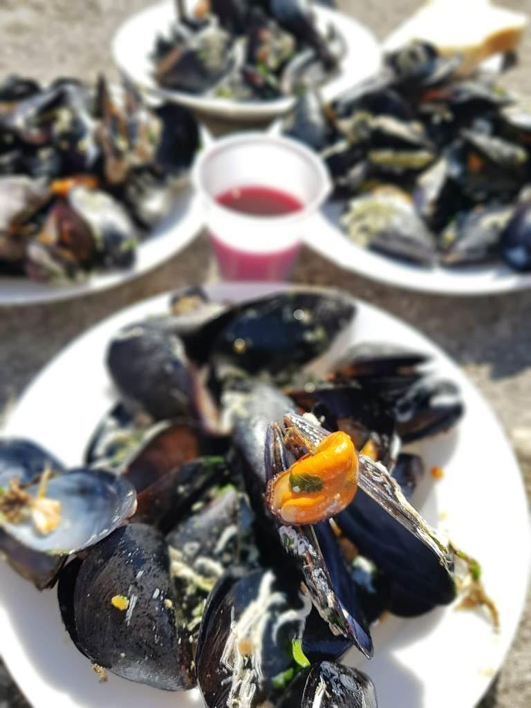 морепродукты в Черногории