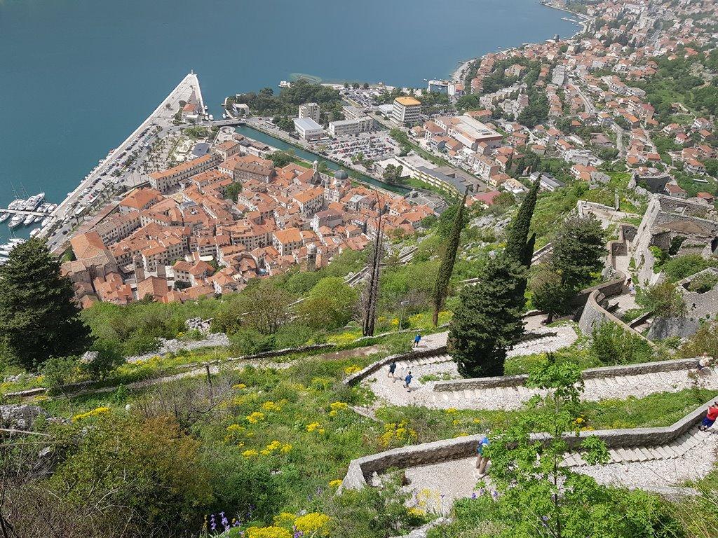 крепость в Которе Черногория