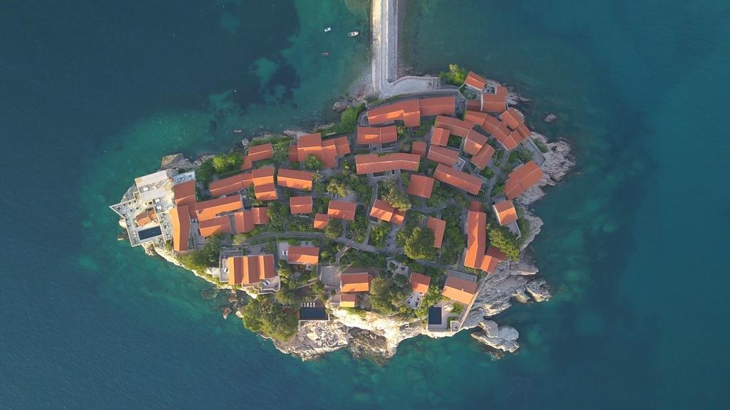 свети стефан - отель на острове