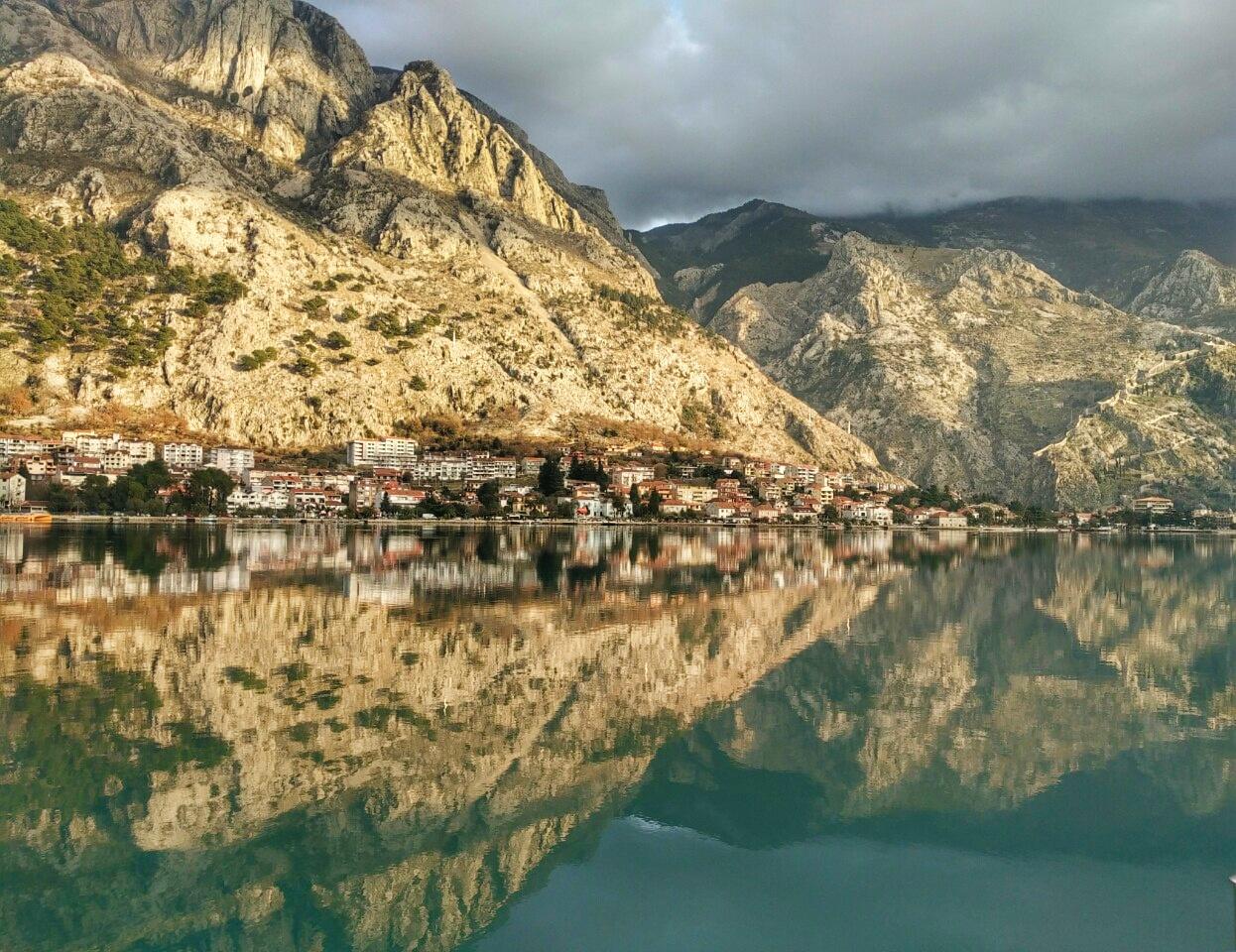 Адриатическое море в Черногории