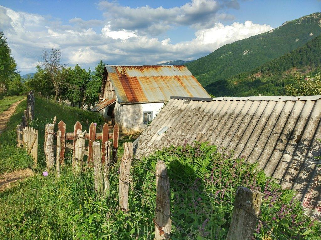 черногорская деревня Япония