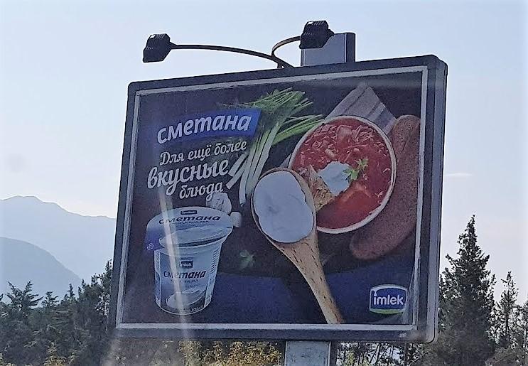 русский язык в Черногории