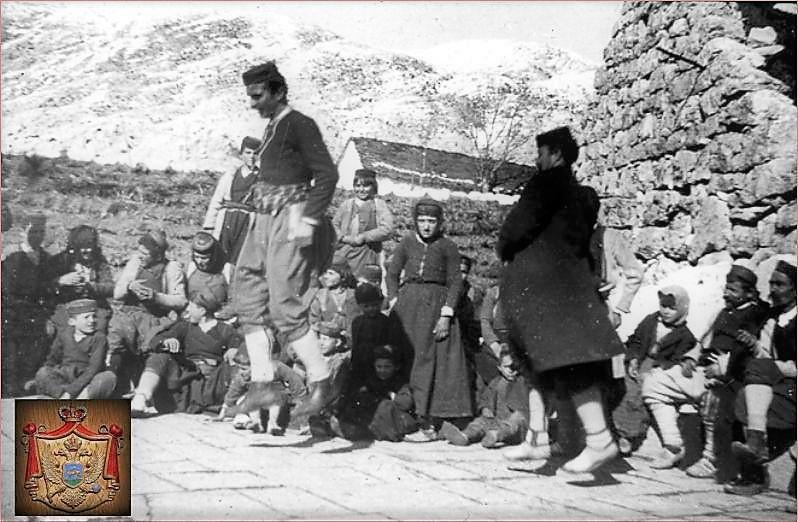 черногорцы, 1905 год, Дурмитор