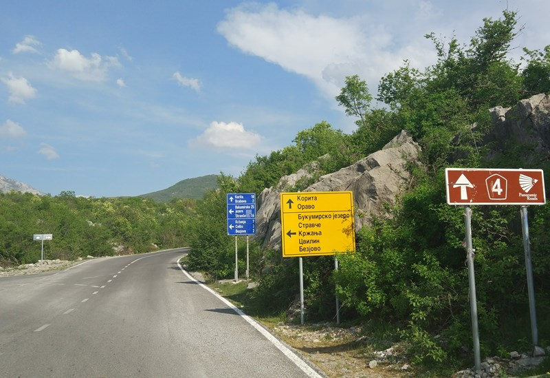 маршрут на авто по Черногории - Круг около Корыта