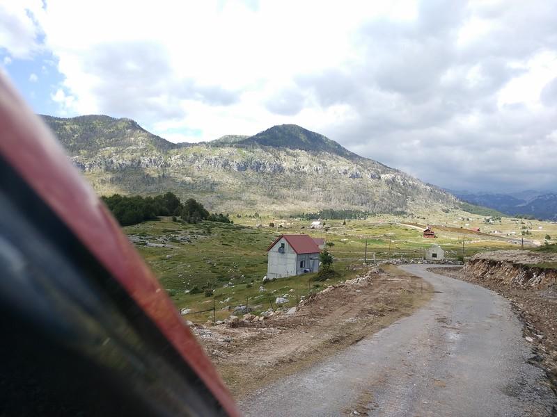 маршрут по Черногории - Круг около Корыта