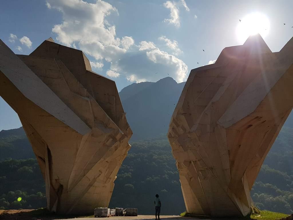 Югославский памятник - Битва на Сутеске