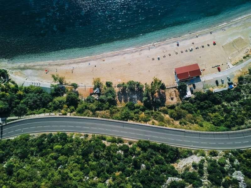 пляж Каменово, Черногория в октябре