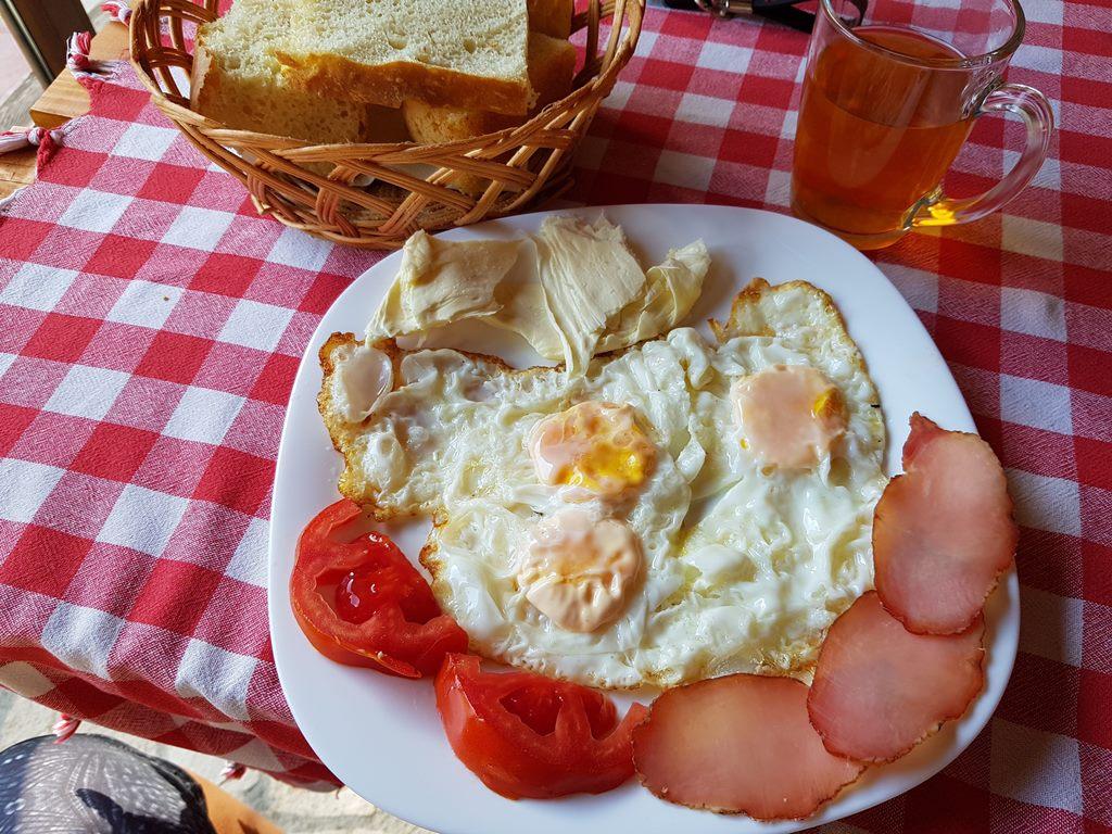 завтрак в Колашине, ресторан Вилине Воде