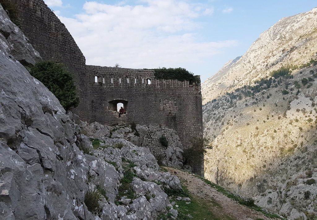 Которская крепость - бесплатный вход
