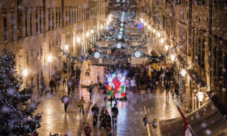 дубровник хорватия новый год