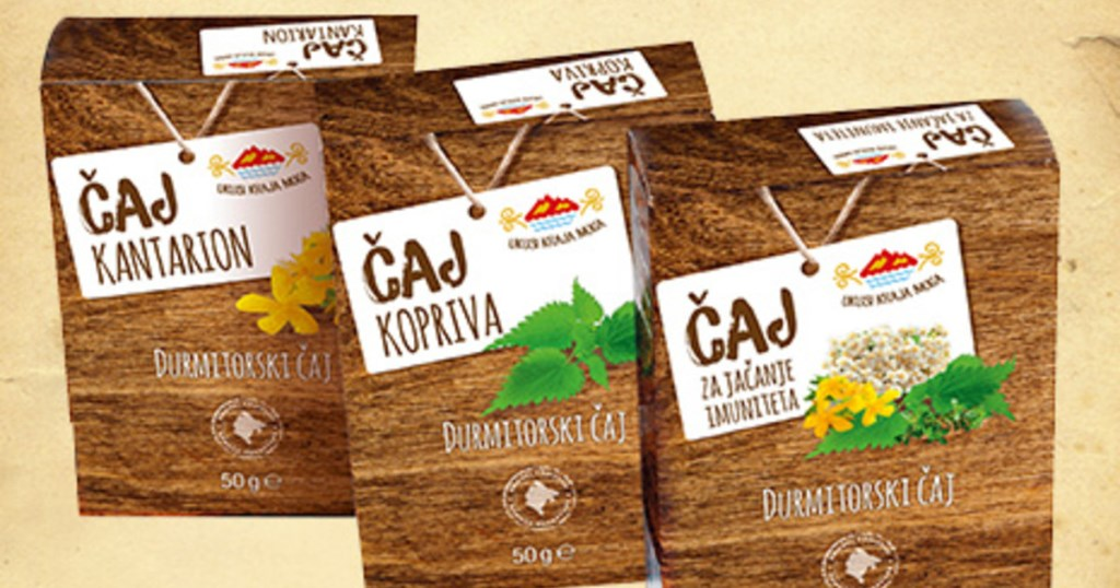чай из горных трав Черногория