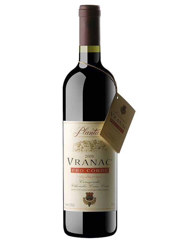вино Вранац Про Корде в Черногории