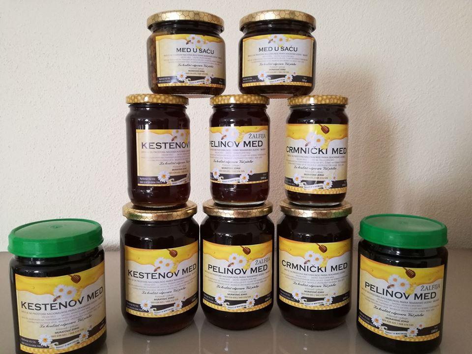 мед в Черногории