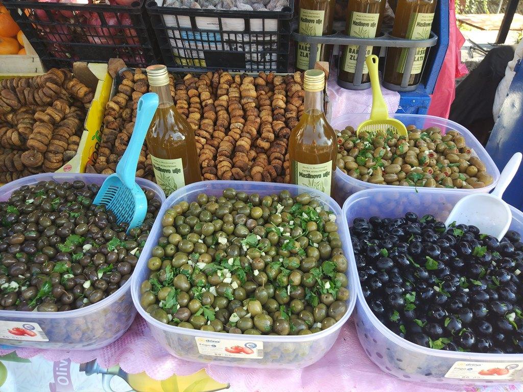 маслины в Черногории
