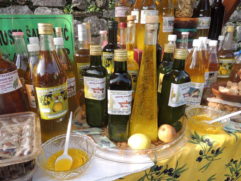 оливковое масло в черногории