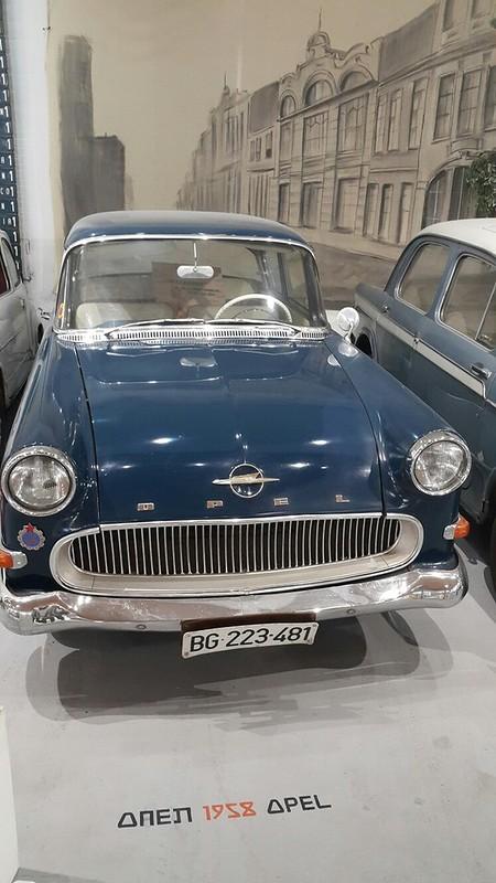 старый опель 1958 г