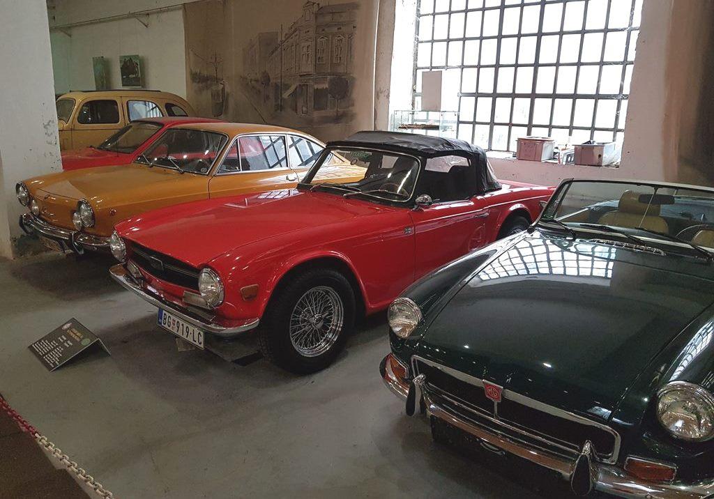 музей ретро авто в Белграде
